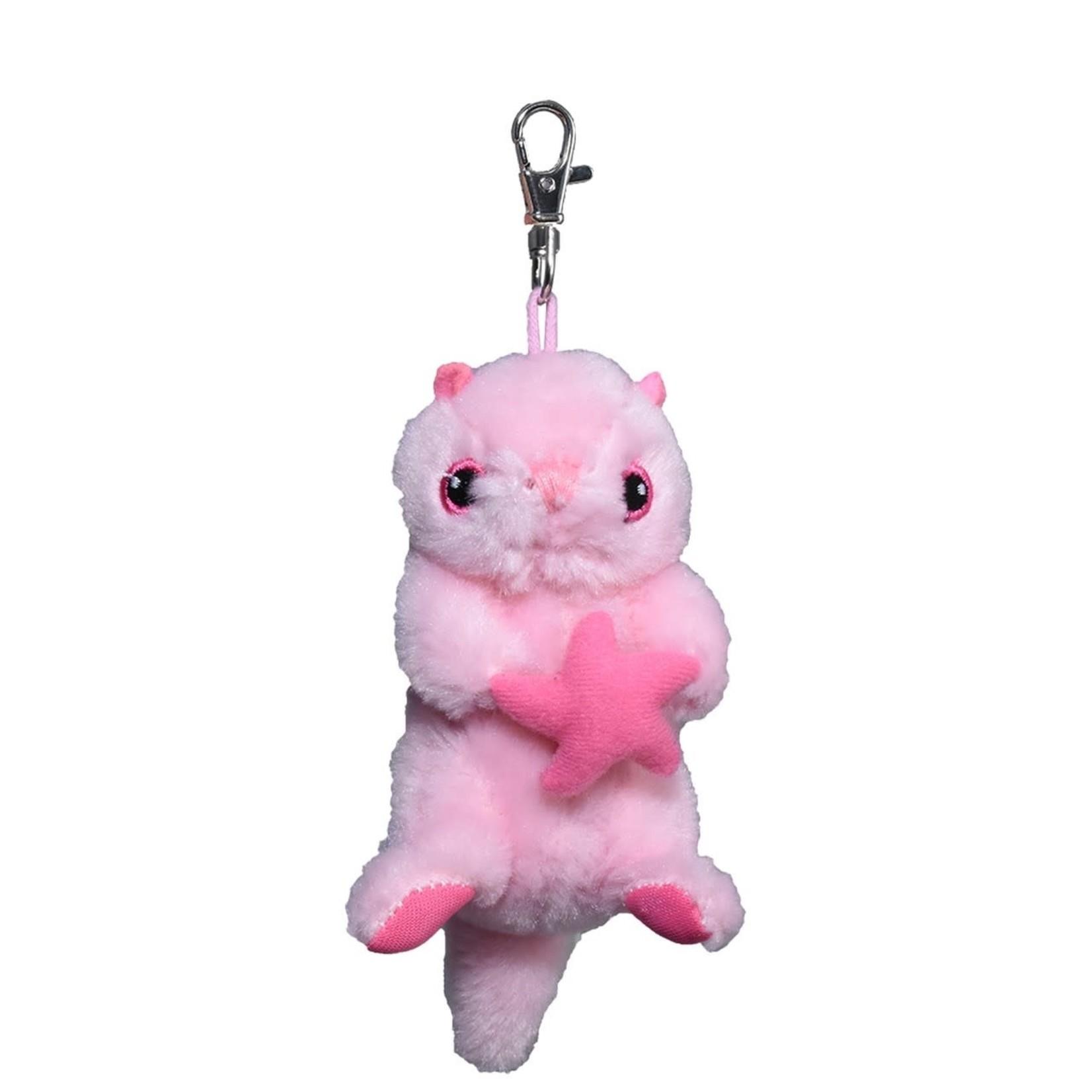 Ocean Wise Sea Otter Ke ring Pink