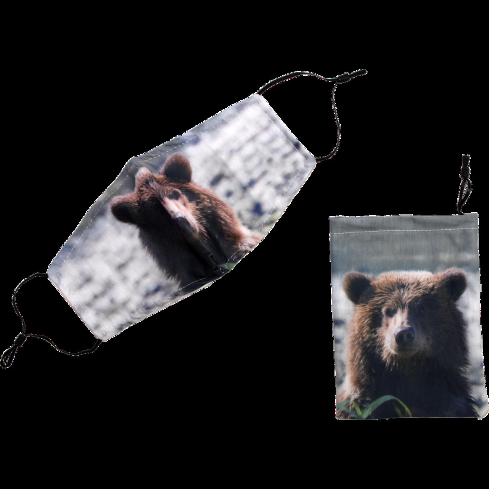 Ocean Wise Face Mask Bear Size  Med