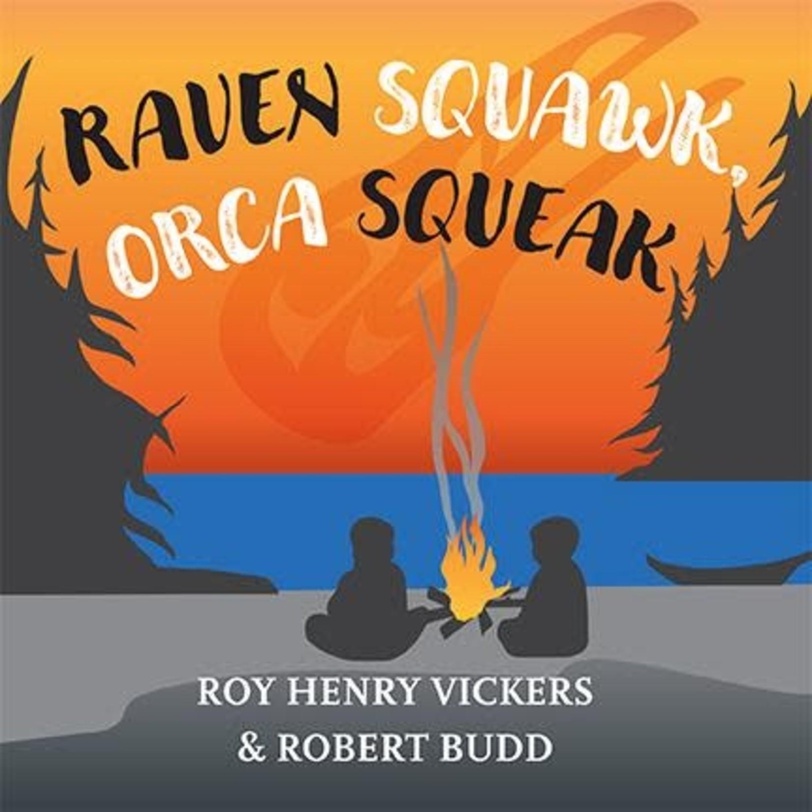 Harbour Publishing Raven Squawk, Orca Squeak Children's Book