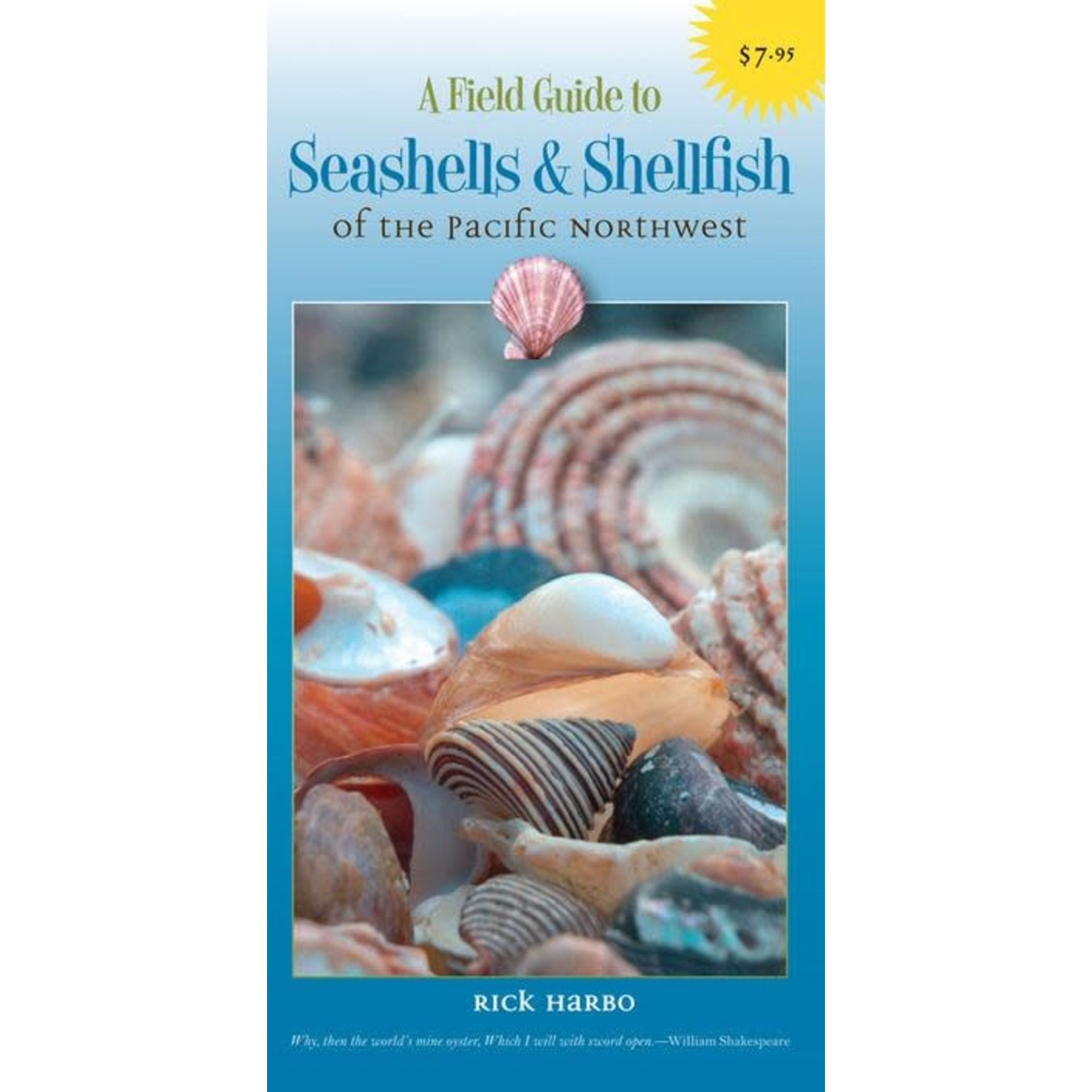 Harbour Publishing Field Guide Seashells of the PNW
