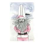 Claire Watson Card Santa Surf