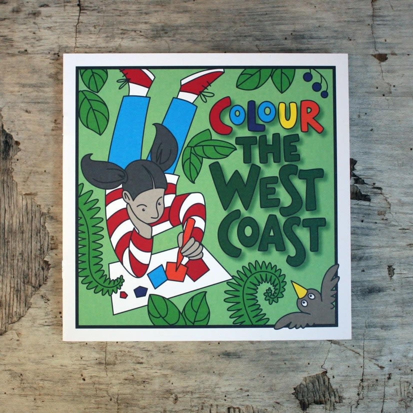 Postelia Press Colour the West Coast