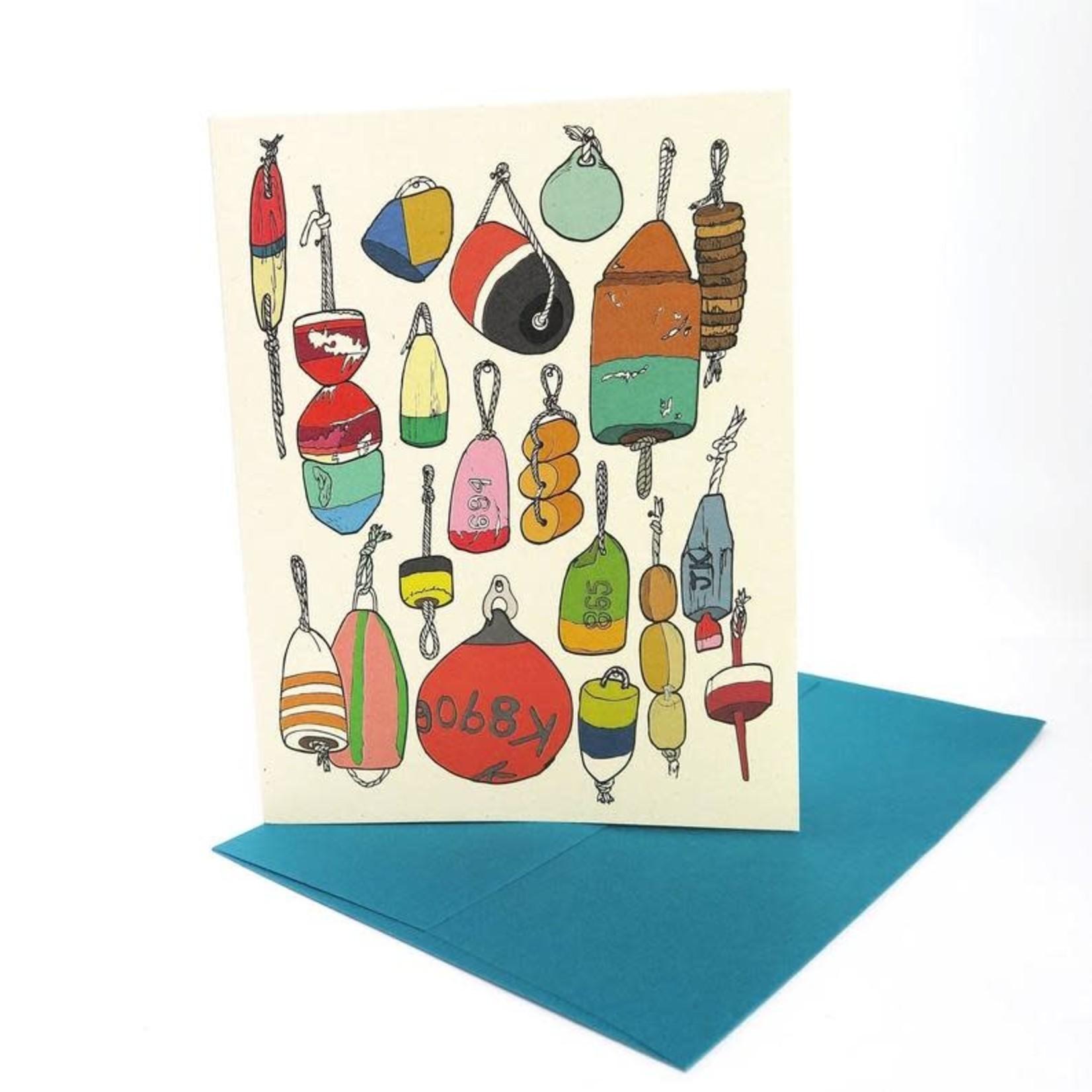 Wild Life Buoys Card
