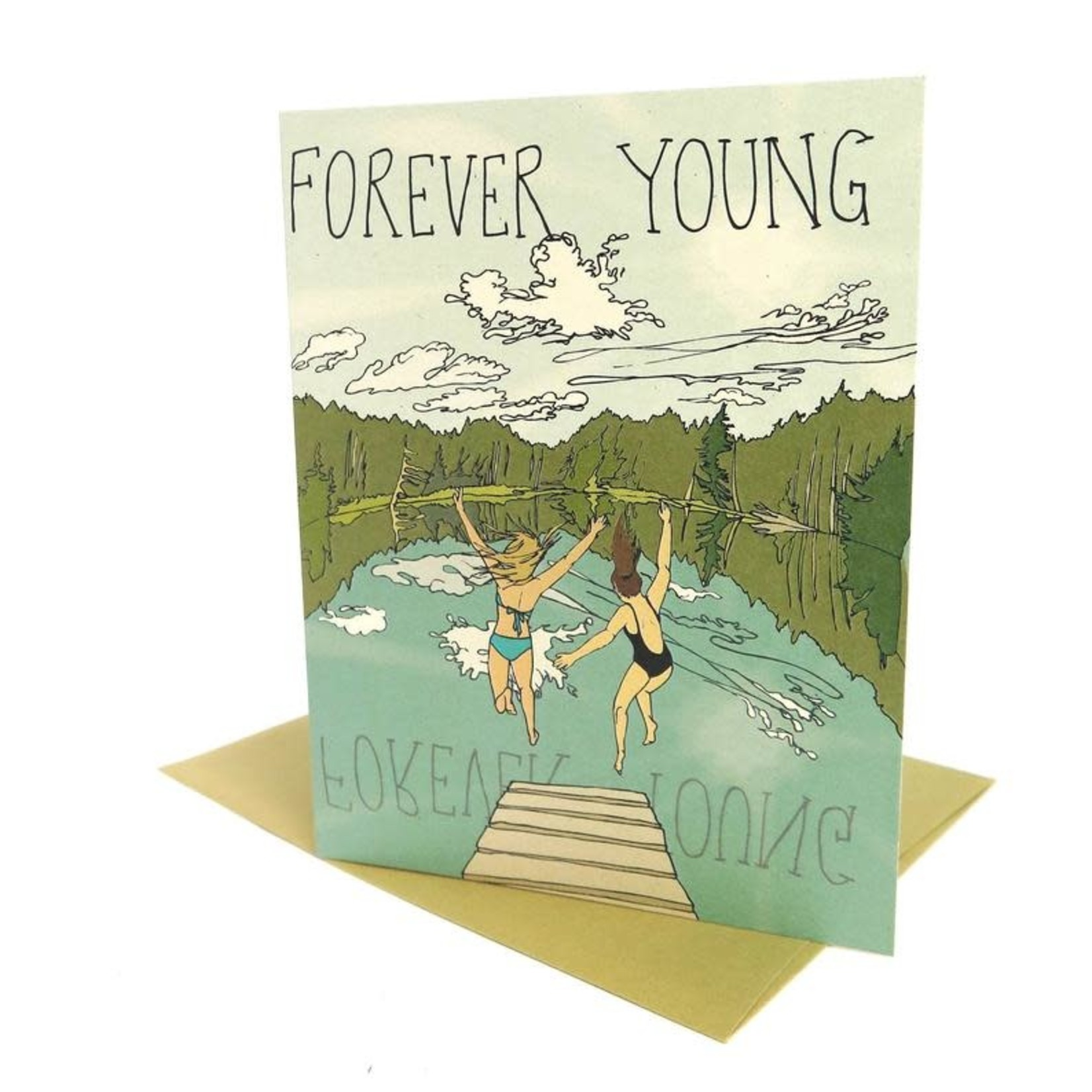 Wild Life Forever Young Card