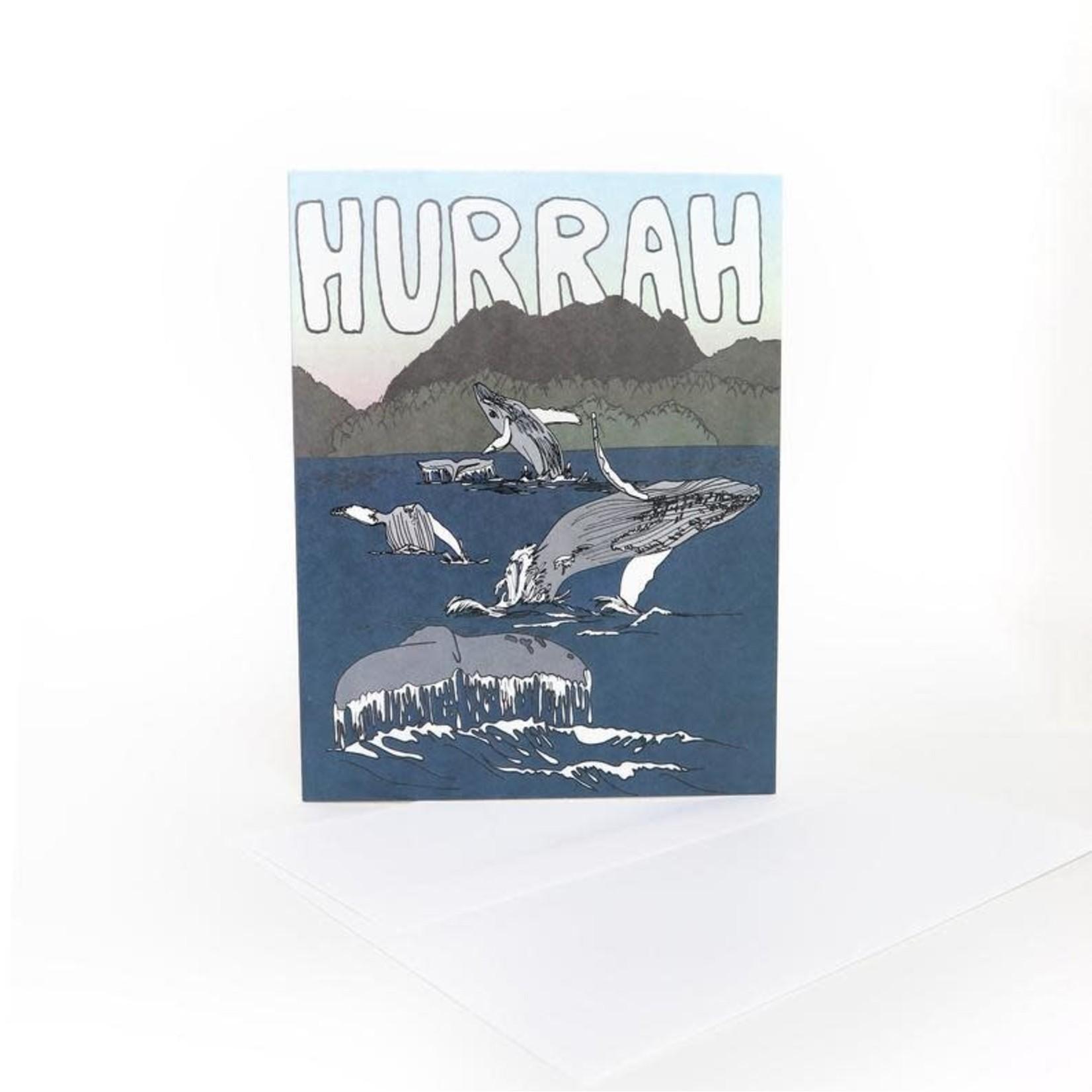 Wild Life Hurrah Card
