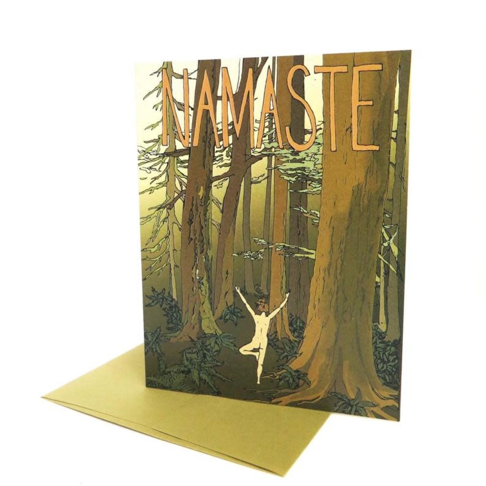Wild Life Namaste Card