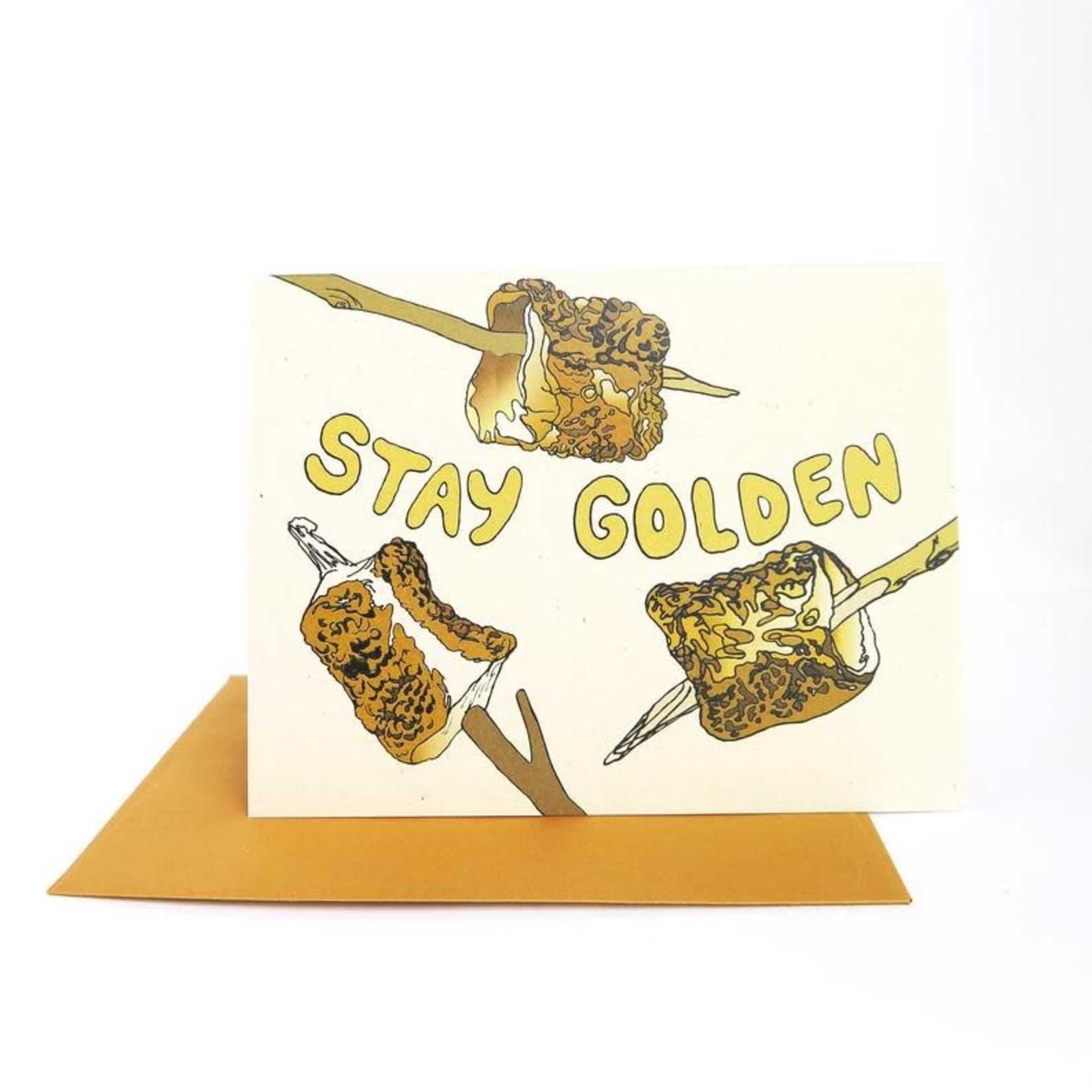 Wild Life Stay Golden Card