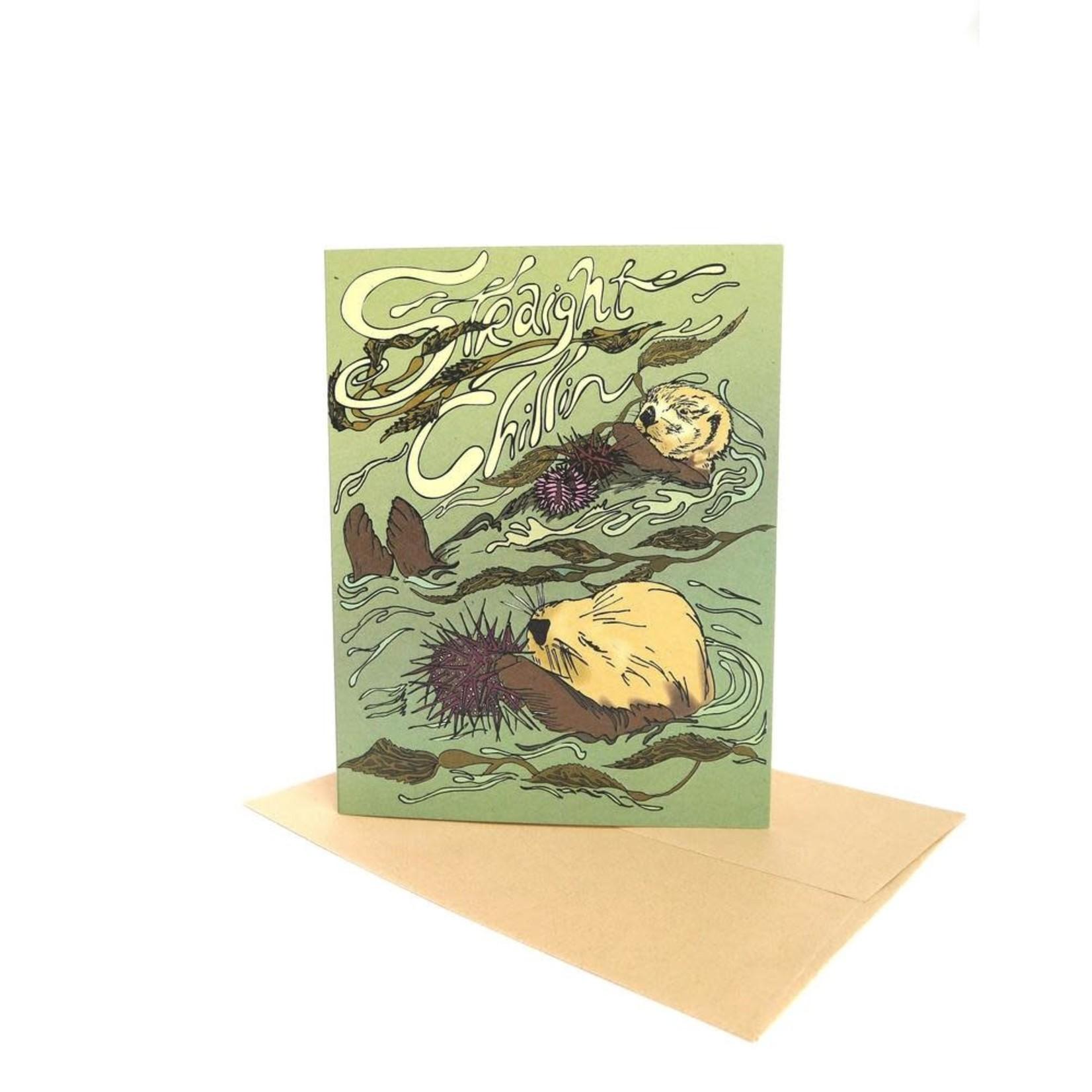 Wild Life Straight Chillin Card