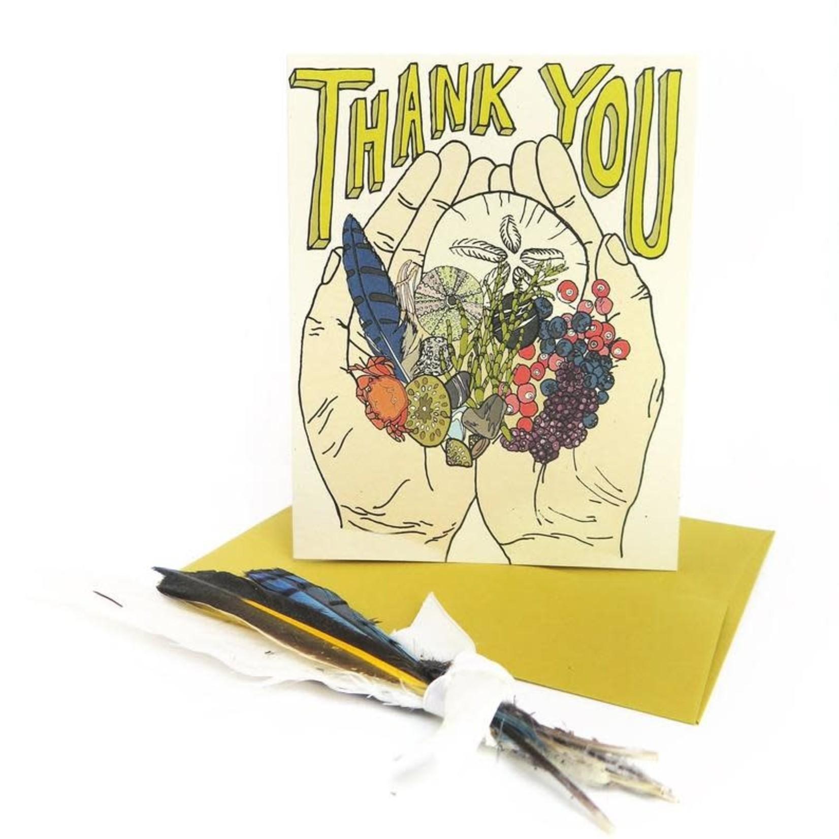 Wild Life Thank You Card