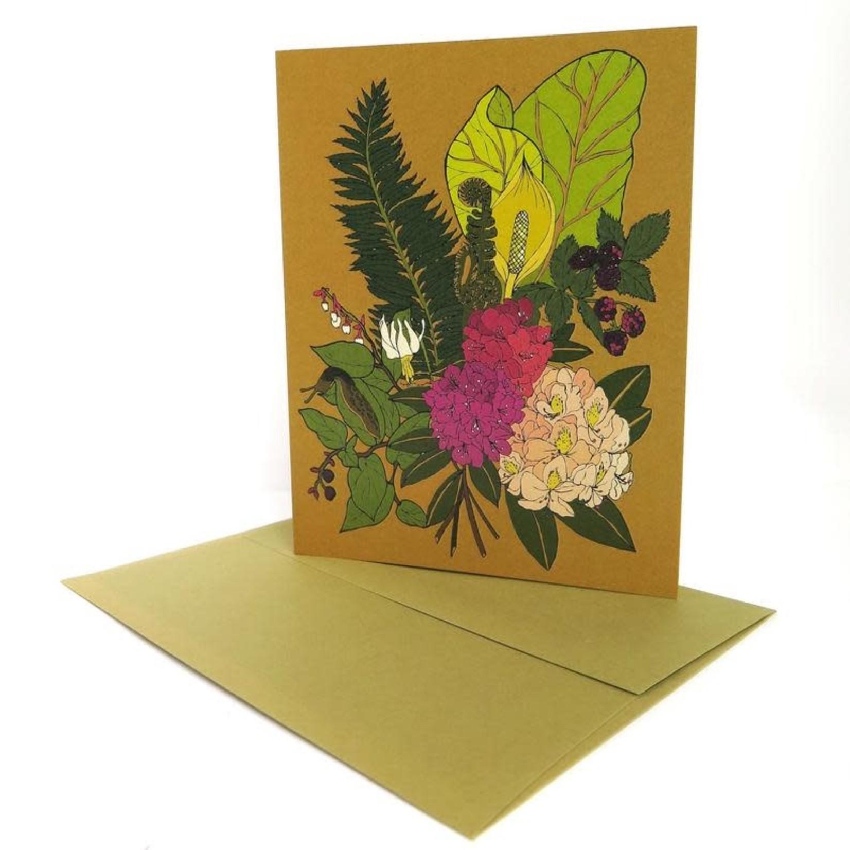 Wild Life Wild Flowers Card