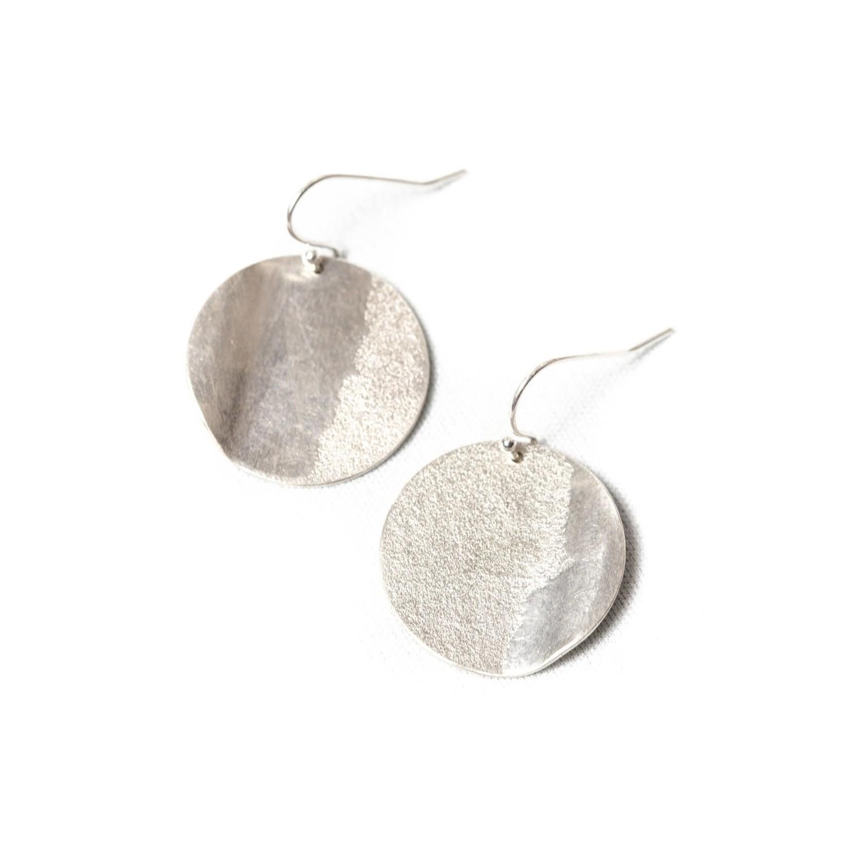 Lisa Fletcher Small Orb Wave Earrings