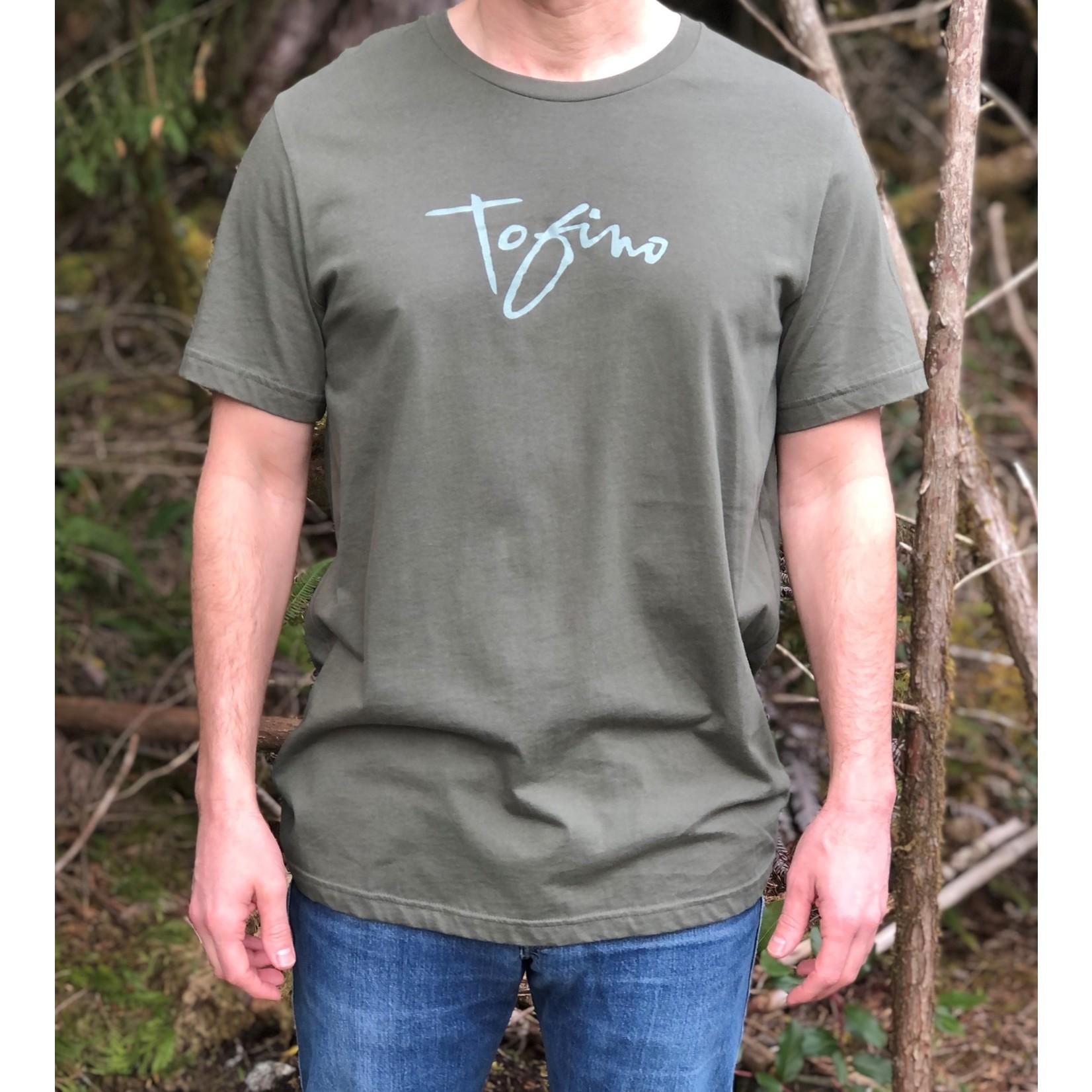 Tourism Tofino Unisex T-Shirt Fade Logo