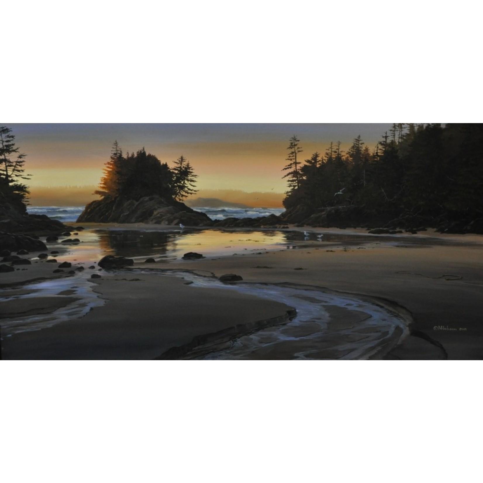 Mark Hobson Art Card Crystal Cove