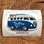 Tourism Tofino Chestervan Sticker