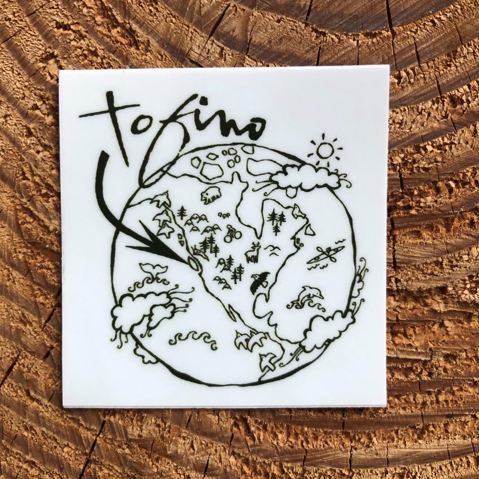Tourism Tofino You Are Here Sticker