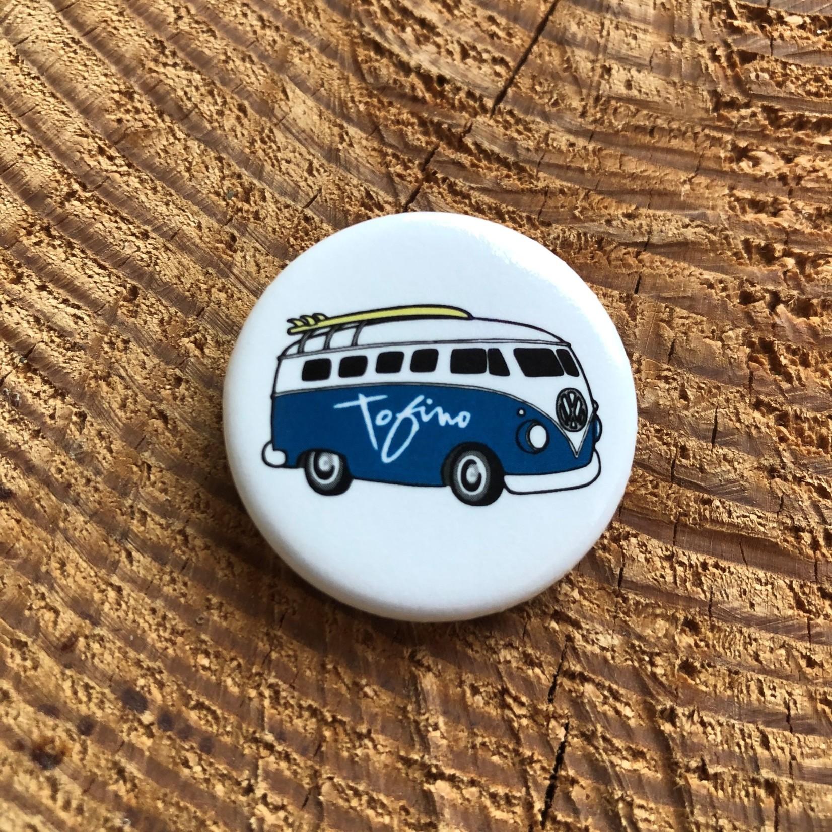 Tourism Tofino Chestervan Button