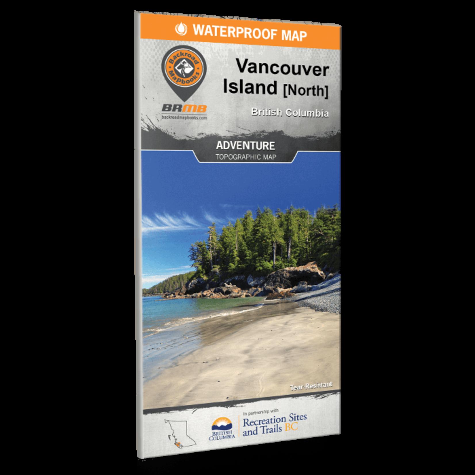 Backroad Mapbooks Van Isl North Waterproof Map