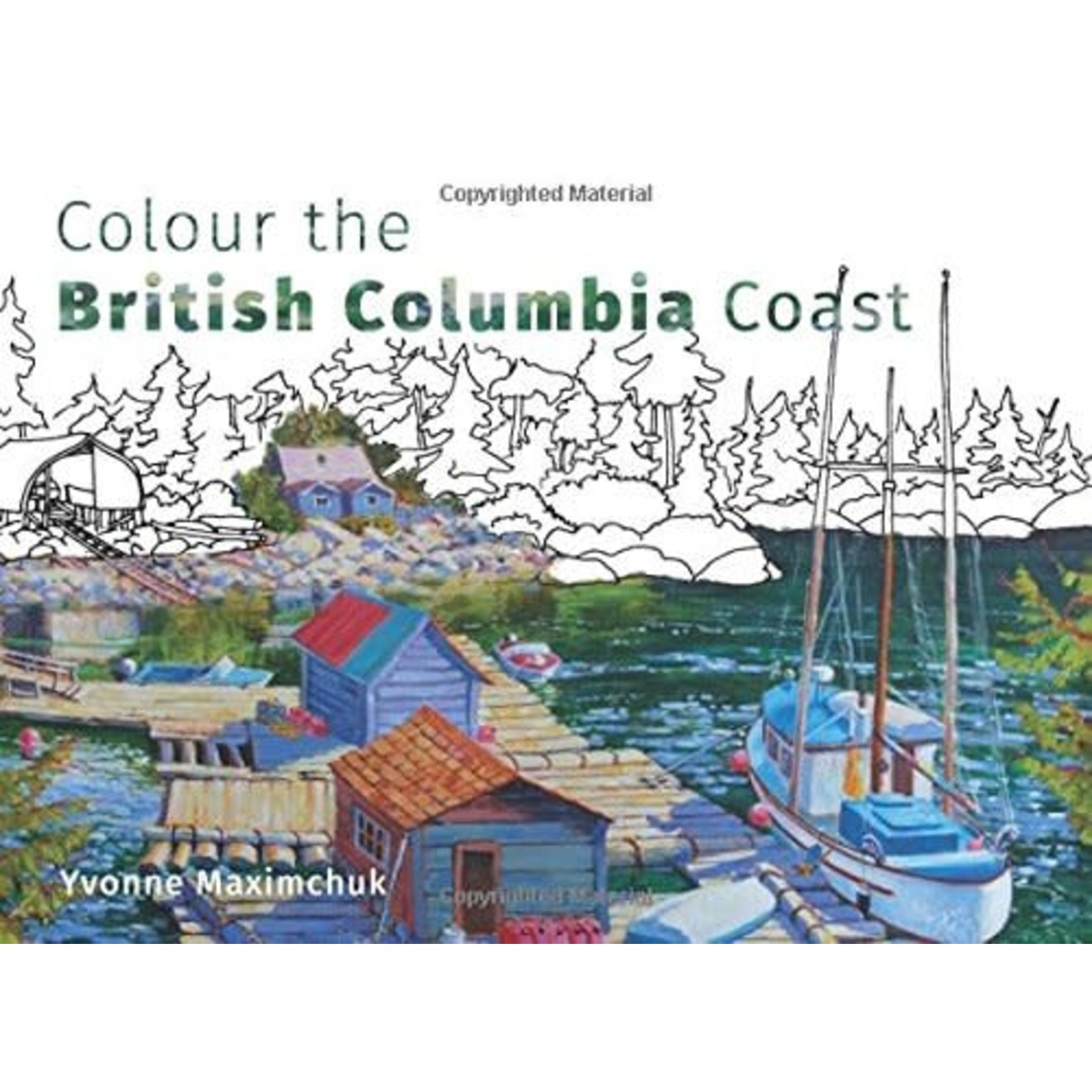 Harbour Publishing Colour the British Columbia Coast