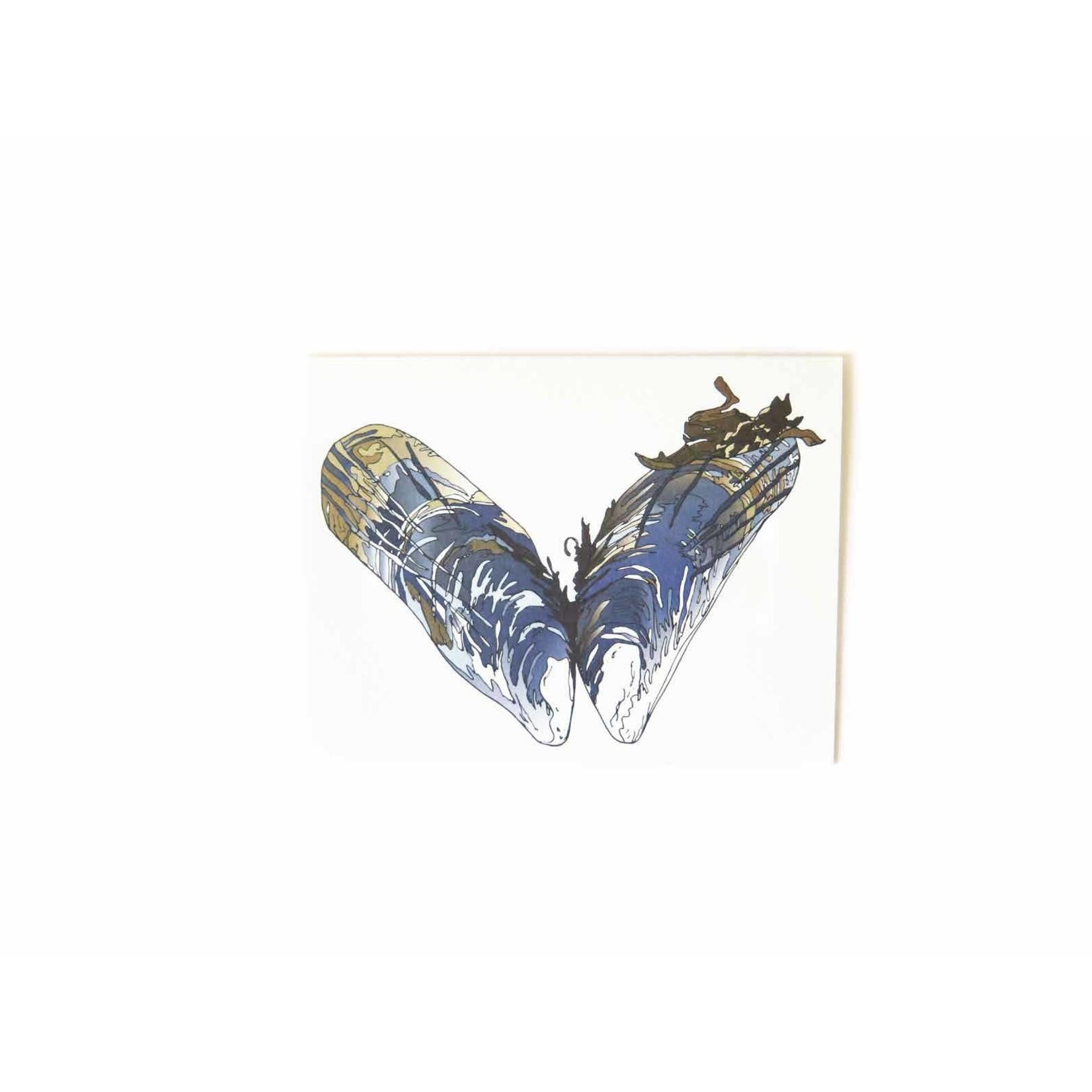 Wild Life Heart Mussel Card