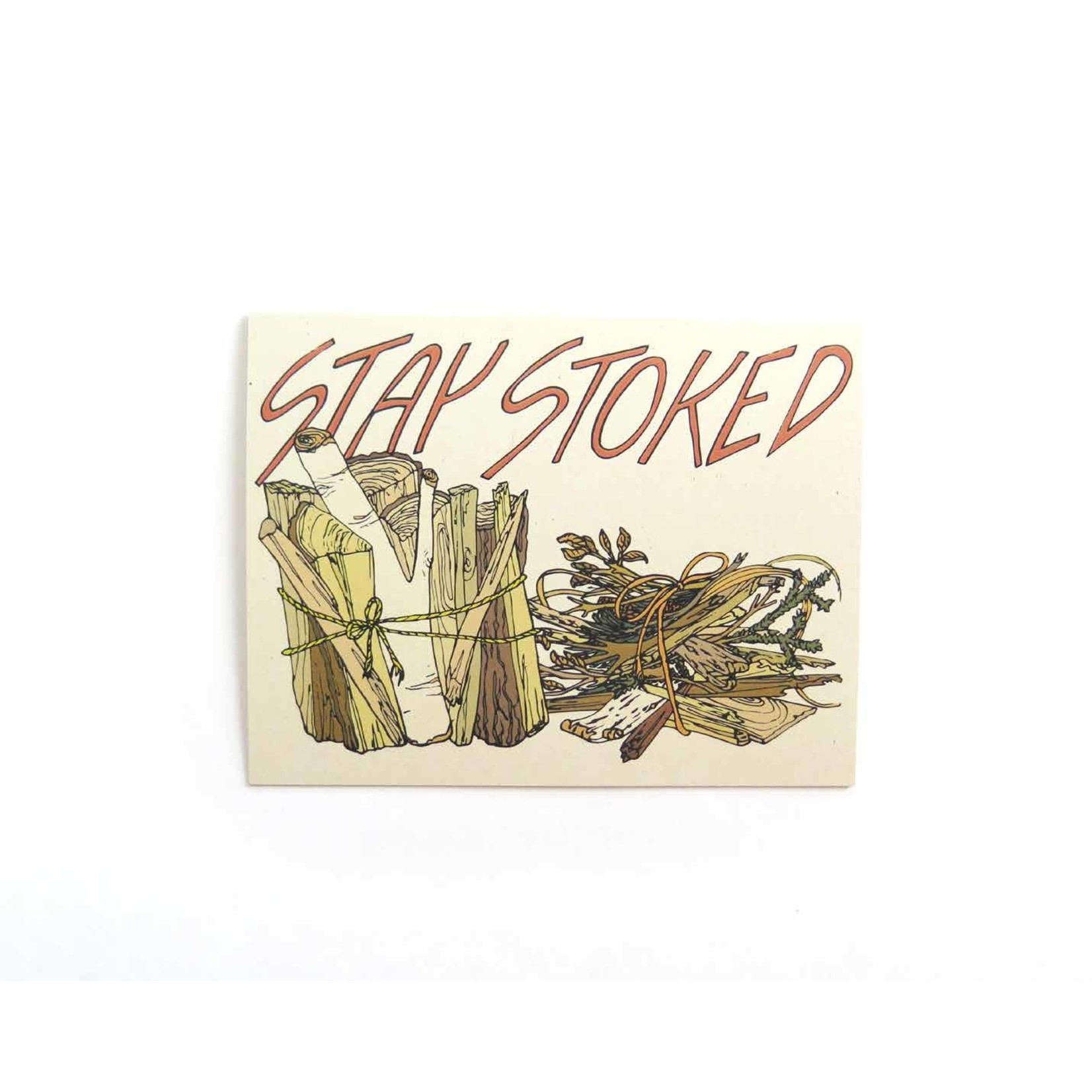 Wild Life Stay Stoked Card