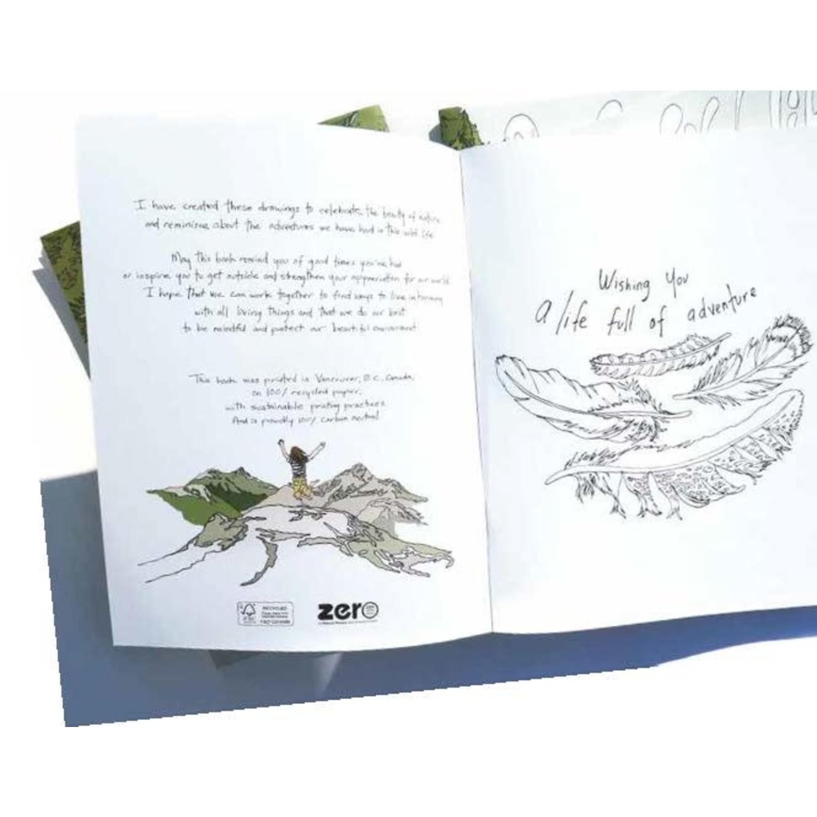 Wild Life Colouring Book