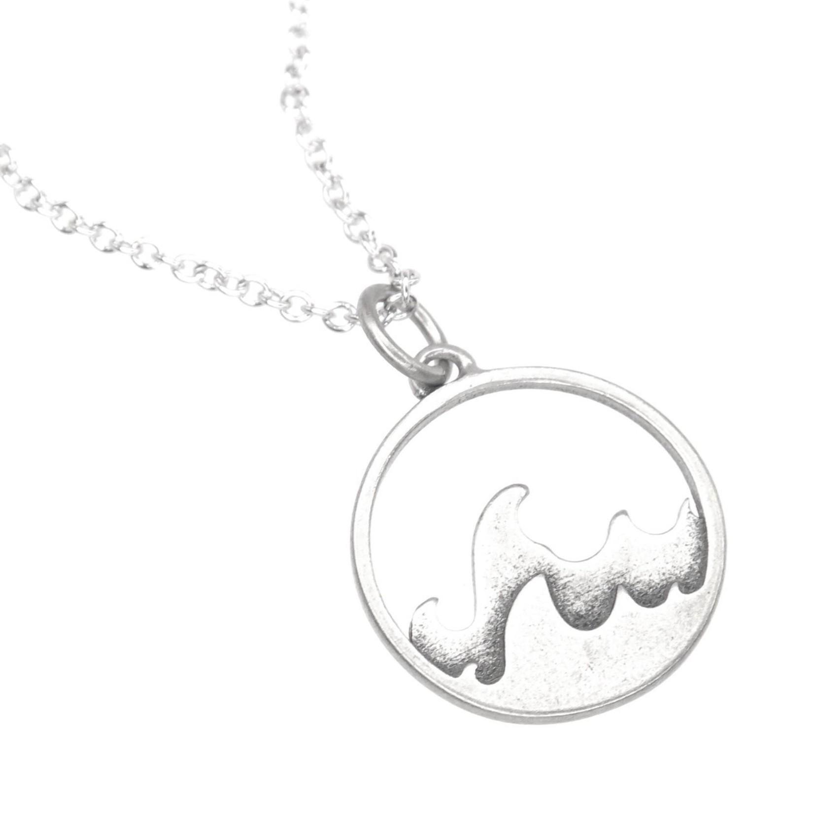Ocean Wise necklace kanagawa wave
