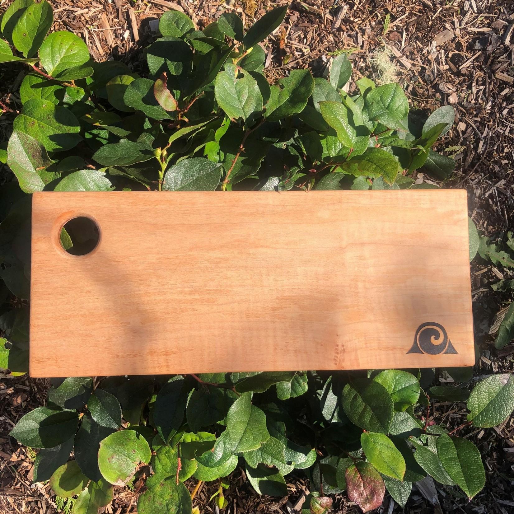 Tofino Wood Works cutting board small rectangle