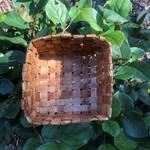 Elizabeth George Cedar Woven Basket