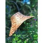Elizabeth George Woven Cedar Hat