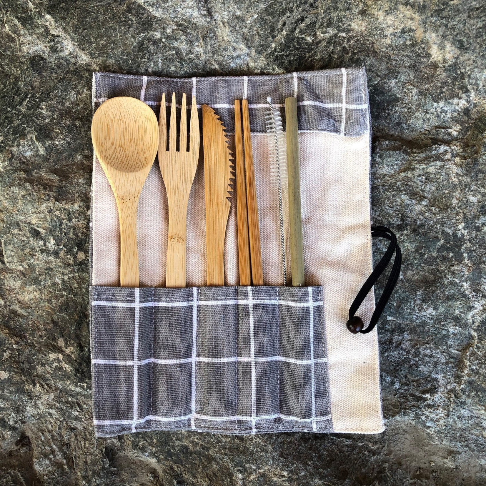 Tourism Tofino Bamboo Cutlery Set