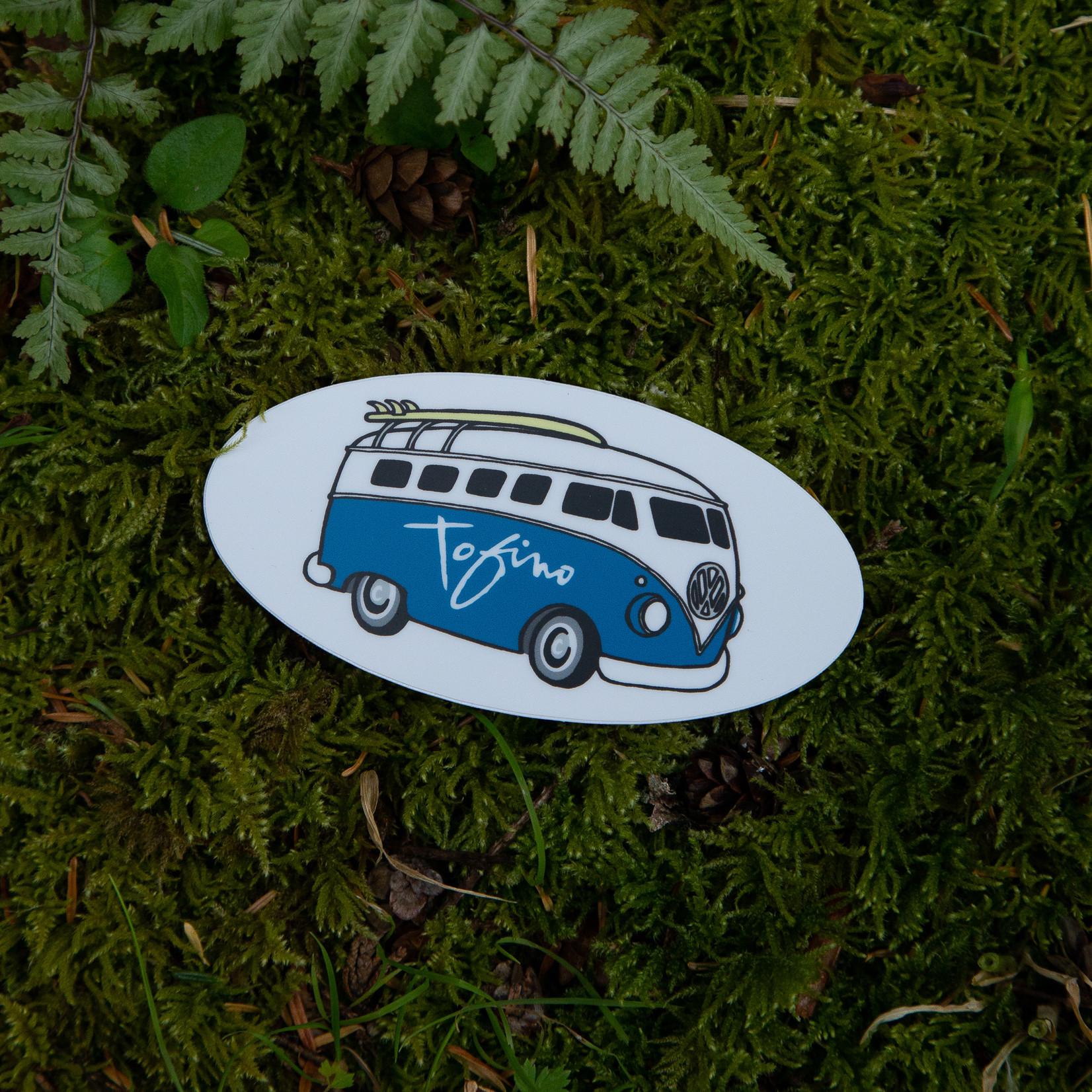 Tourism Tofino Sticker Chestervan