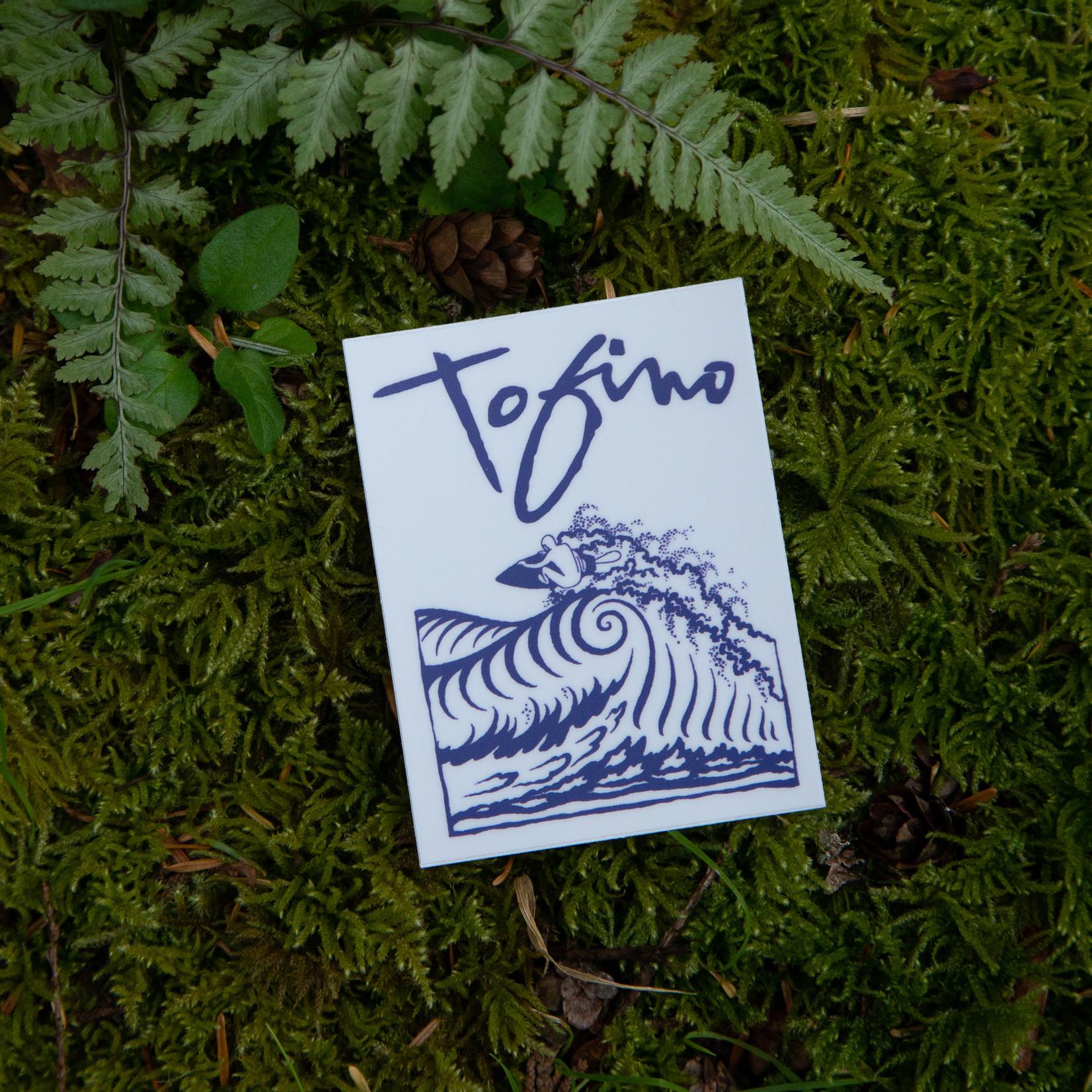 Tourism Tofino Tofino Surf Sticker