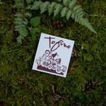 Tourism Tofino Sandpiper & Waves Sticker