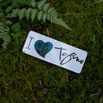 Tourism Tofino Bumper Sticker I Heart Tofino