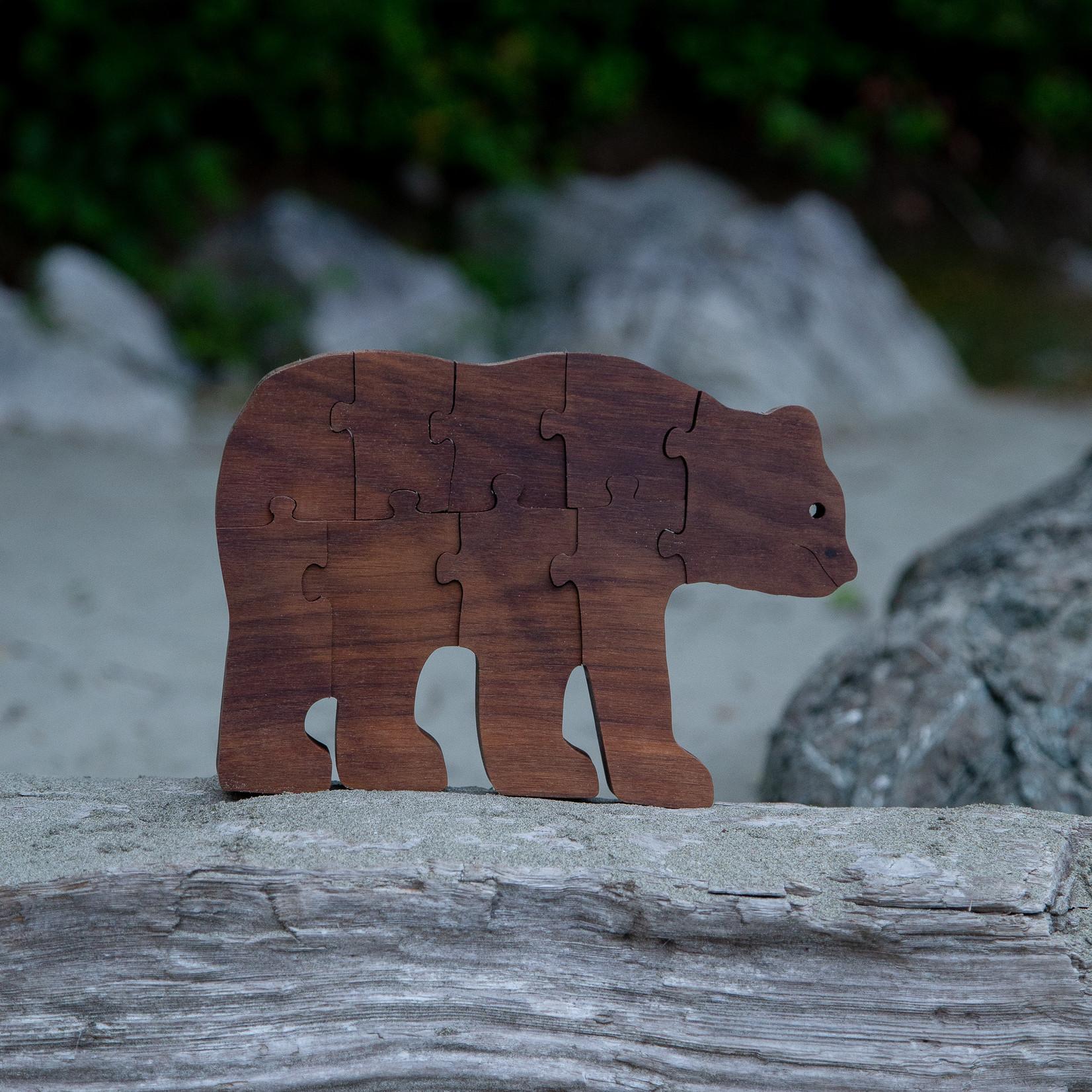 Tuff Town Toys puzzle bear