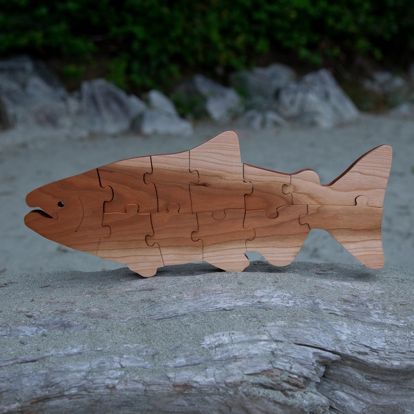 Tuff Town Toys puzzle salmon large