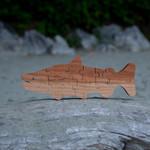 Tuff Town Toys puzzle salmon small