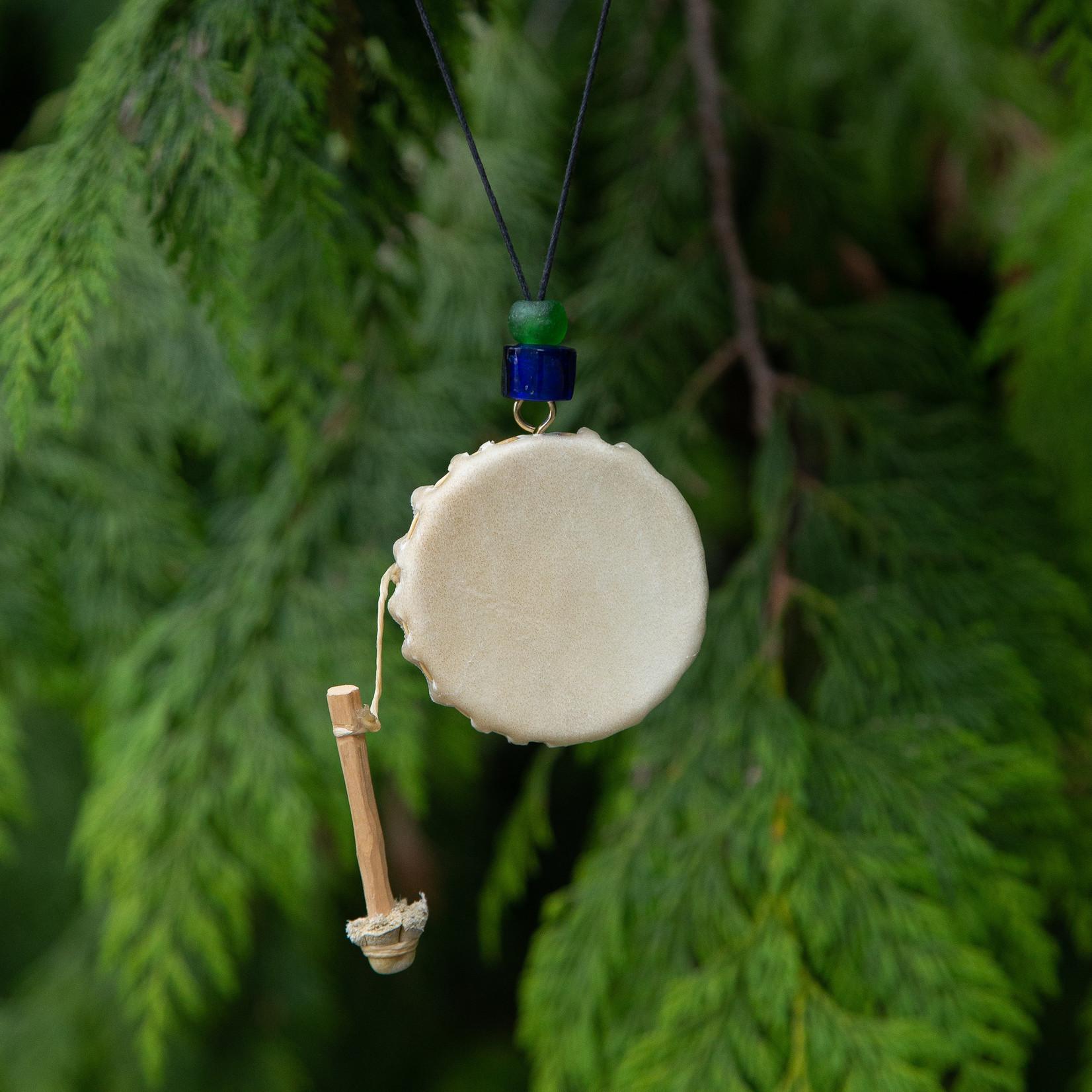 Michael Hunt Drum Necklace Beads