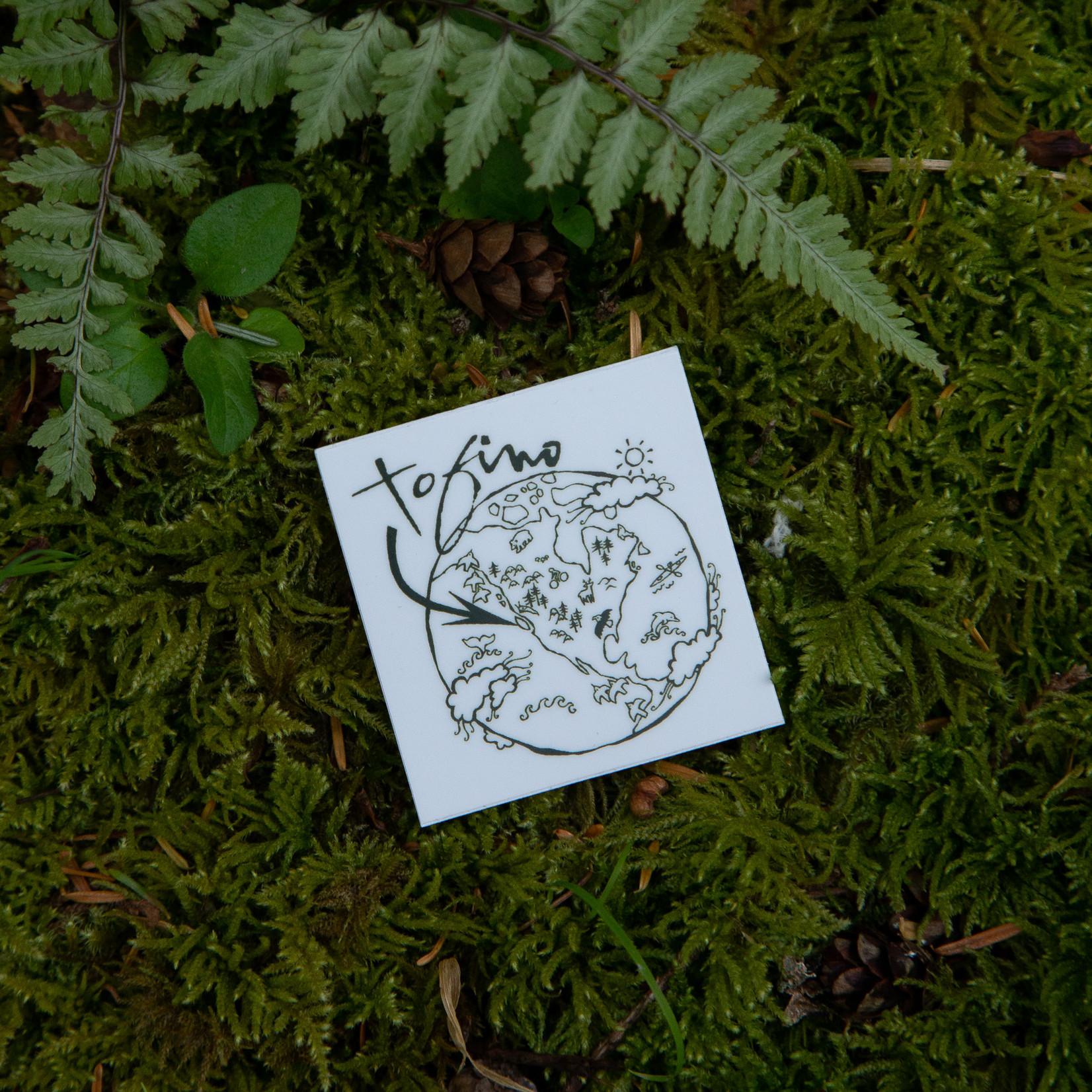 Tourism Tofino Tofino You Are Here Sticker