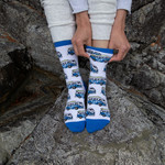 Tourism Tofino Chestervan Socks Ladies sz 8-10