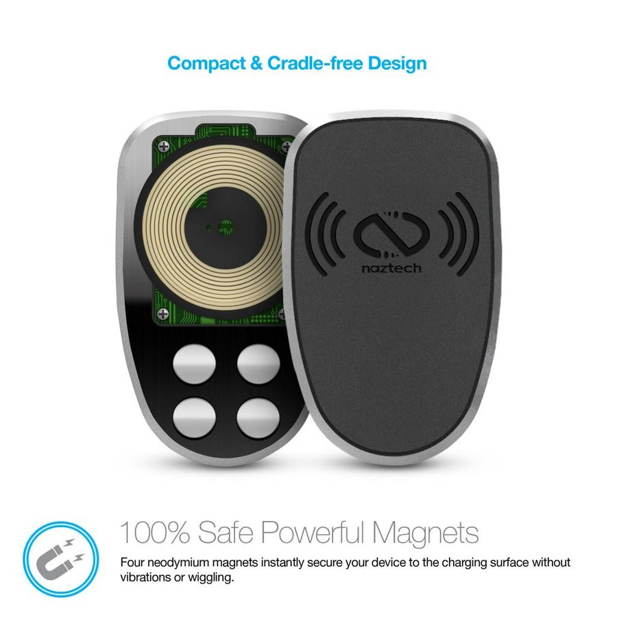 MagBuddy® Wireless Charge Anywhere + Mount