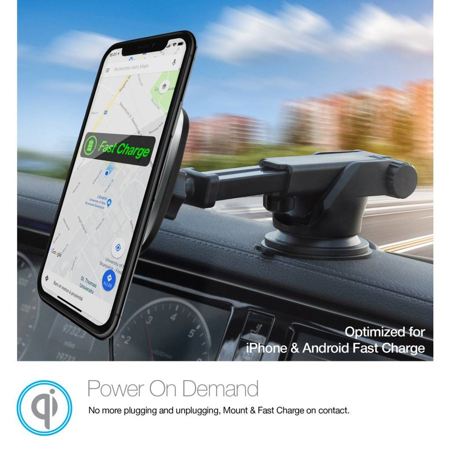MagBuddy® Wireless Charge Dash Mount