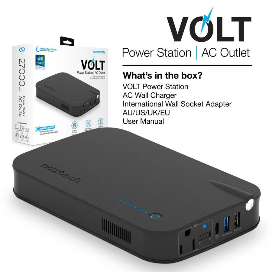 VOLT Power Station & AC Outlet