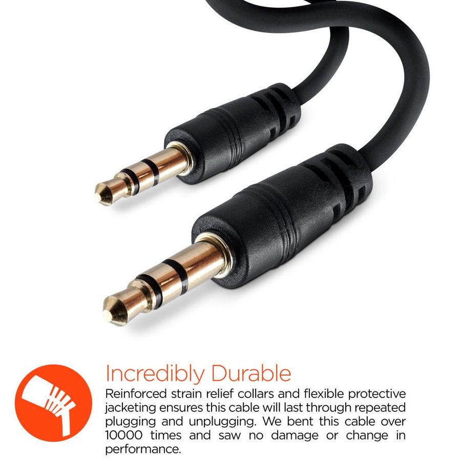 3.5mm Auxiliary/AUX Audio Cable