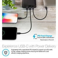 60W USB-C PD Super Speed Portable Battery 26800mAh