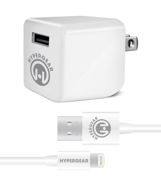 HyperGear iPhone Rapid Wall Charger 4 feet 2.4A
