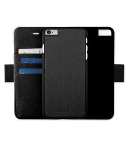 Naztech Naztech Allure Magnetic Cover + Wallet for iPhone 7 - Black