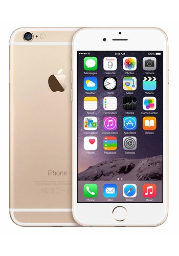 Refurbished iPhone 6 Unlocked - 64GB Storage - Gold