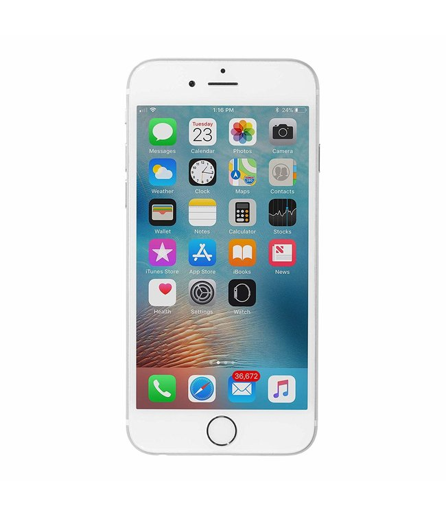 Apple Refurbished iPhone 6 Unlocked - 64GB Storage - Silver