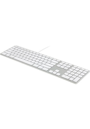 Aluminum Wired Keyboard with 10 Key